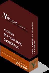 Corso di Matematica Generale
